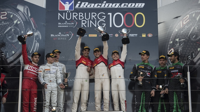 Blancpain: Vanthoor new Pro Cup Champion and Teams title to Belgian Audi Club Team WRT