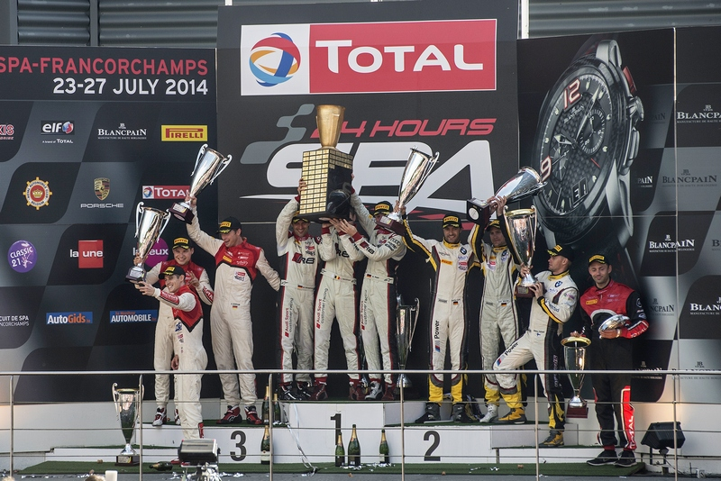 GT: Belgian Audi Club Team WRT takes home win after nail-biting finish at 24hrs of Spa