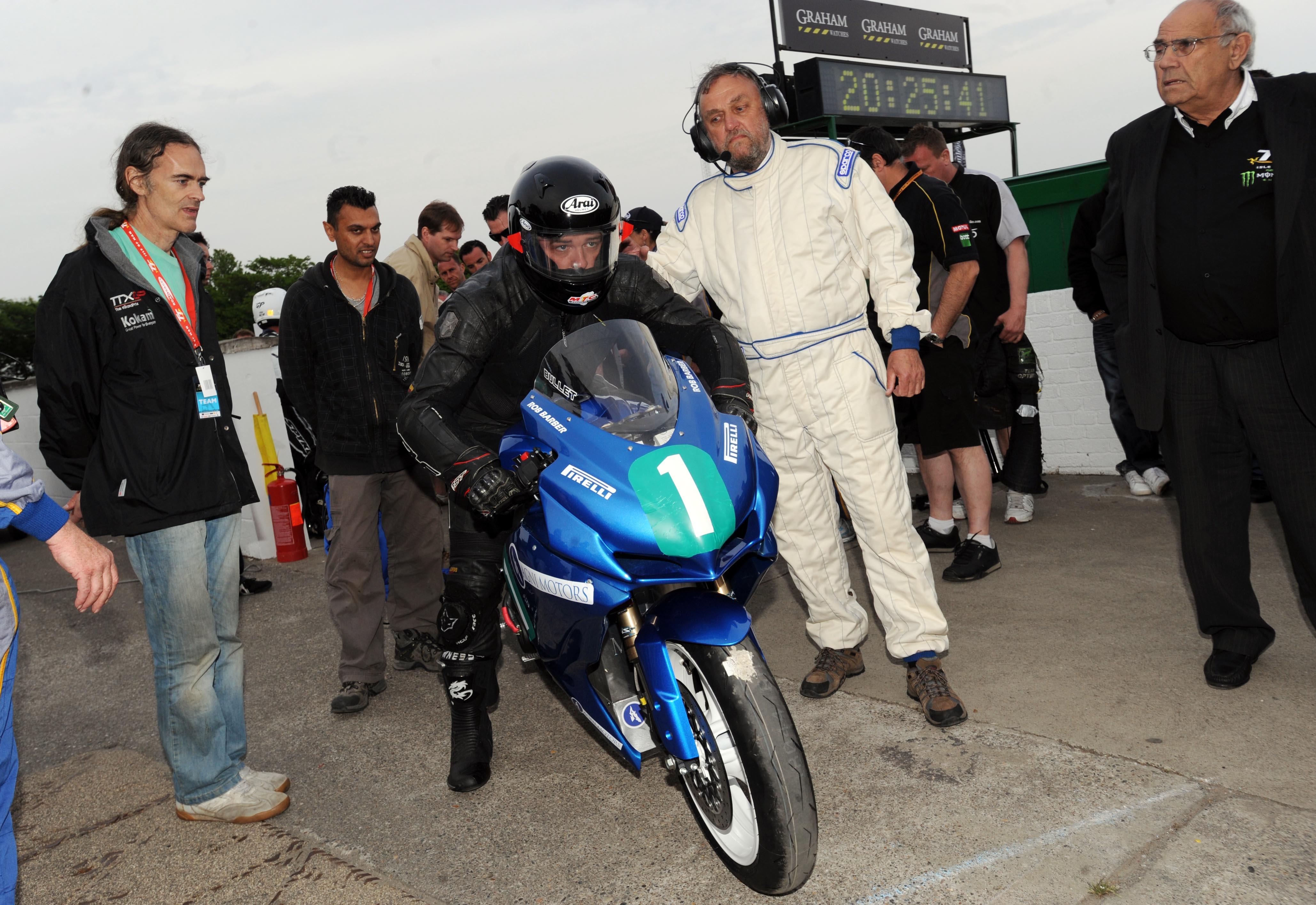 Zero Electric bikes take on TT Zero Challenge