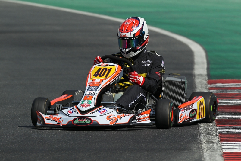 Dubai: UAE Karting DD2 champion Pier Packenham-Walsh in the spotlight