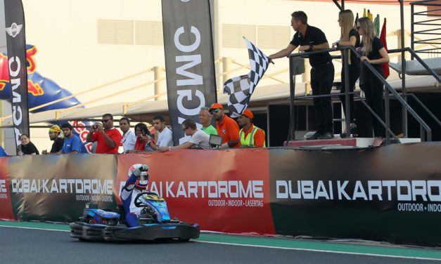 Dubai: Endurance Championship Driven By Mini – CG Racing Pro take round three win at the Dubai Kartdrome
