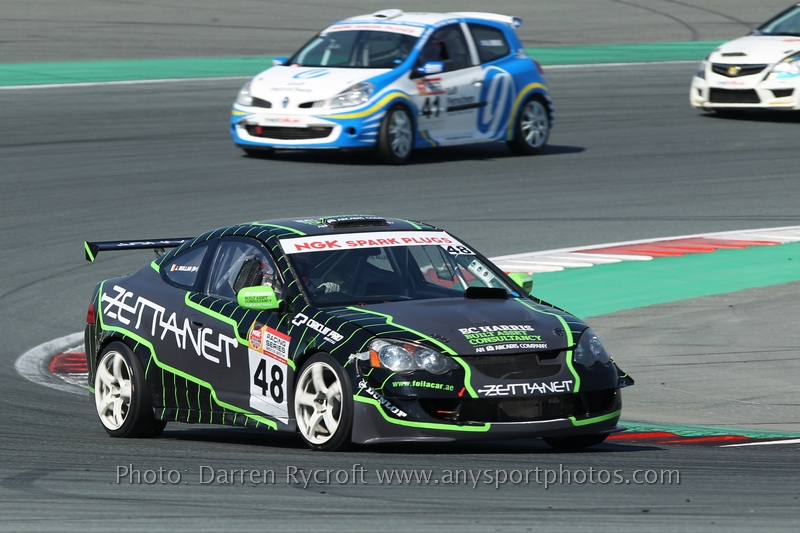 Dubai: Zettanet Racing Team up the ante with a gutsy performance at the Autodrome