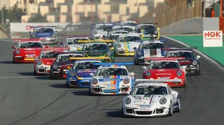 Porsche GT3 Cup Challenge Middle East action returns to Dubai Autodrome this weekend