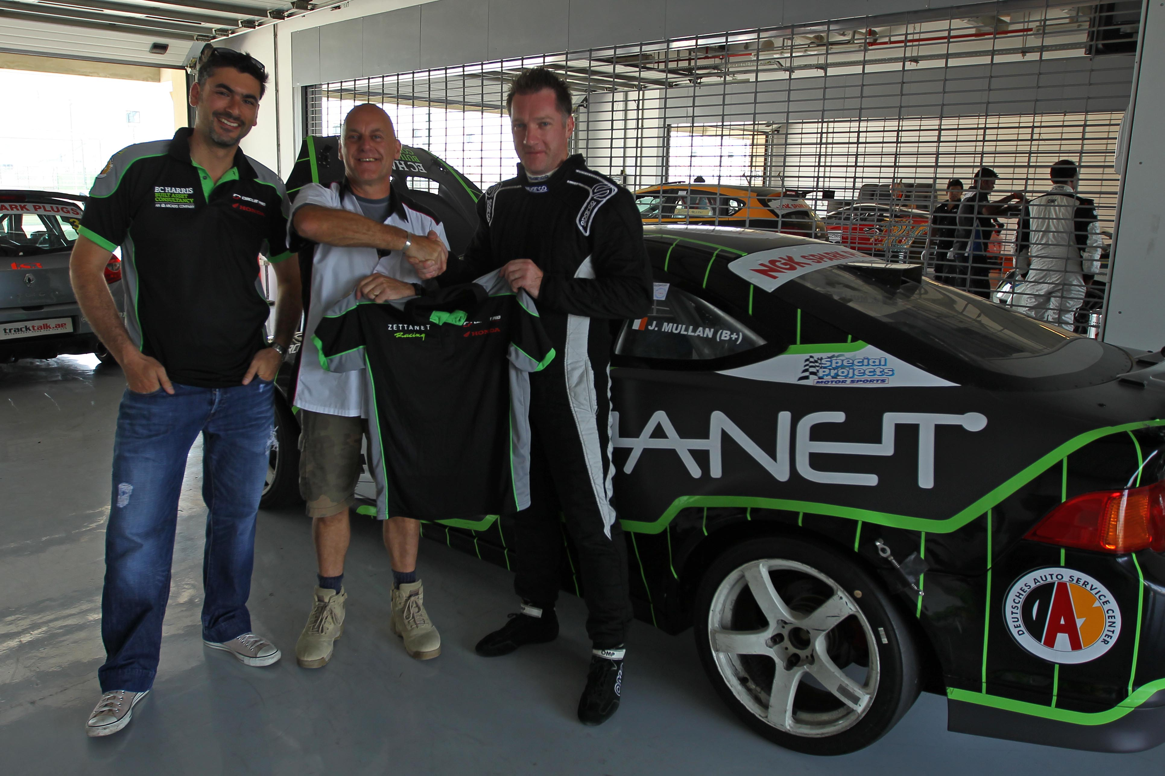 Dubai – Zettanet Race Team welcomes the Ferret into the 'Business'