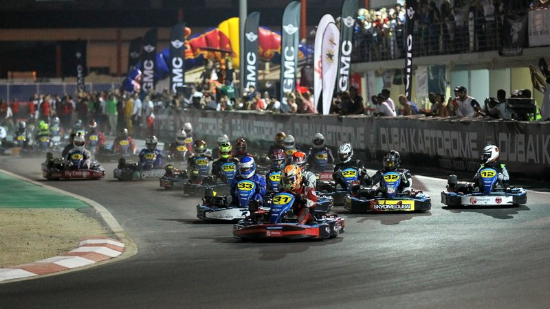 Karting: Batelco team make three from three after tense battle for top honours