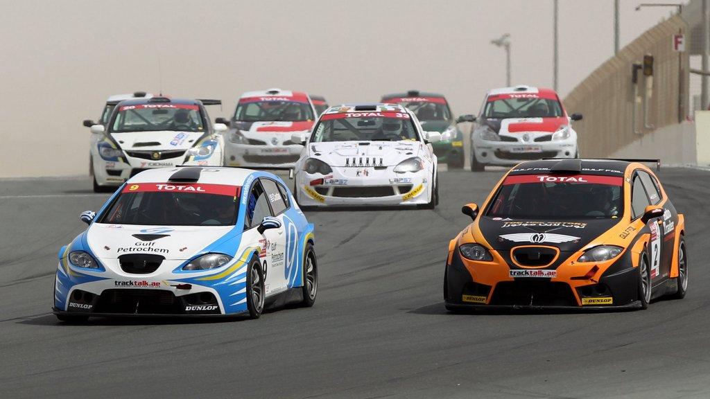 Total UAE Touring Cars and NGK UAE GT Championship at Yas Marina Circuit