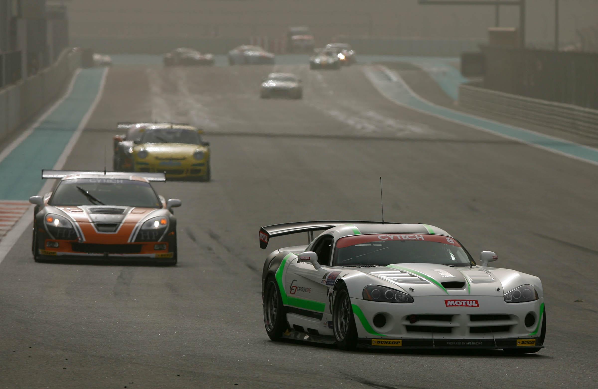 Cytech UAE GT race winner