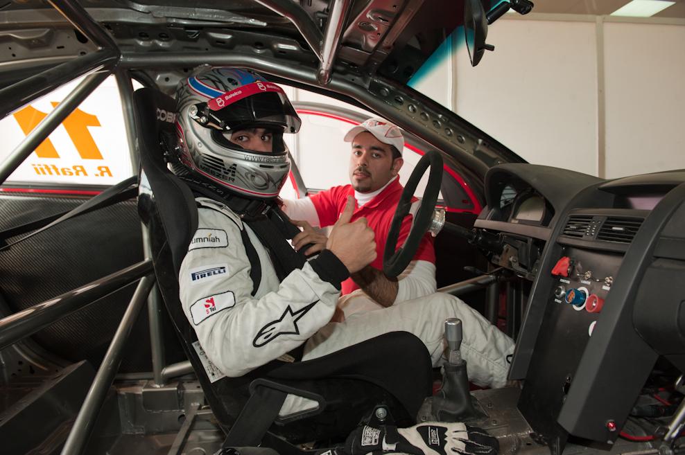 WGA Chevrolet V8 Supercars ME round 2 from Reem Circuit Saudi Arabia, Raffi and Al Yaeesh victorious