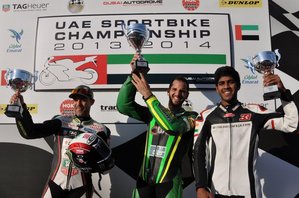 UAE: Binladen continues winning streak with double win at Dubai Autodrome