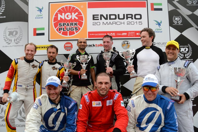 UAE: Dragon Racing Ferrari duo cruise to victory in NGK Enduro