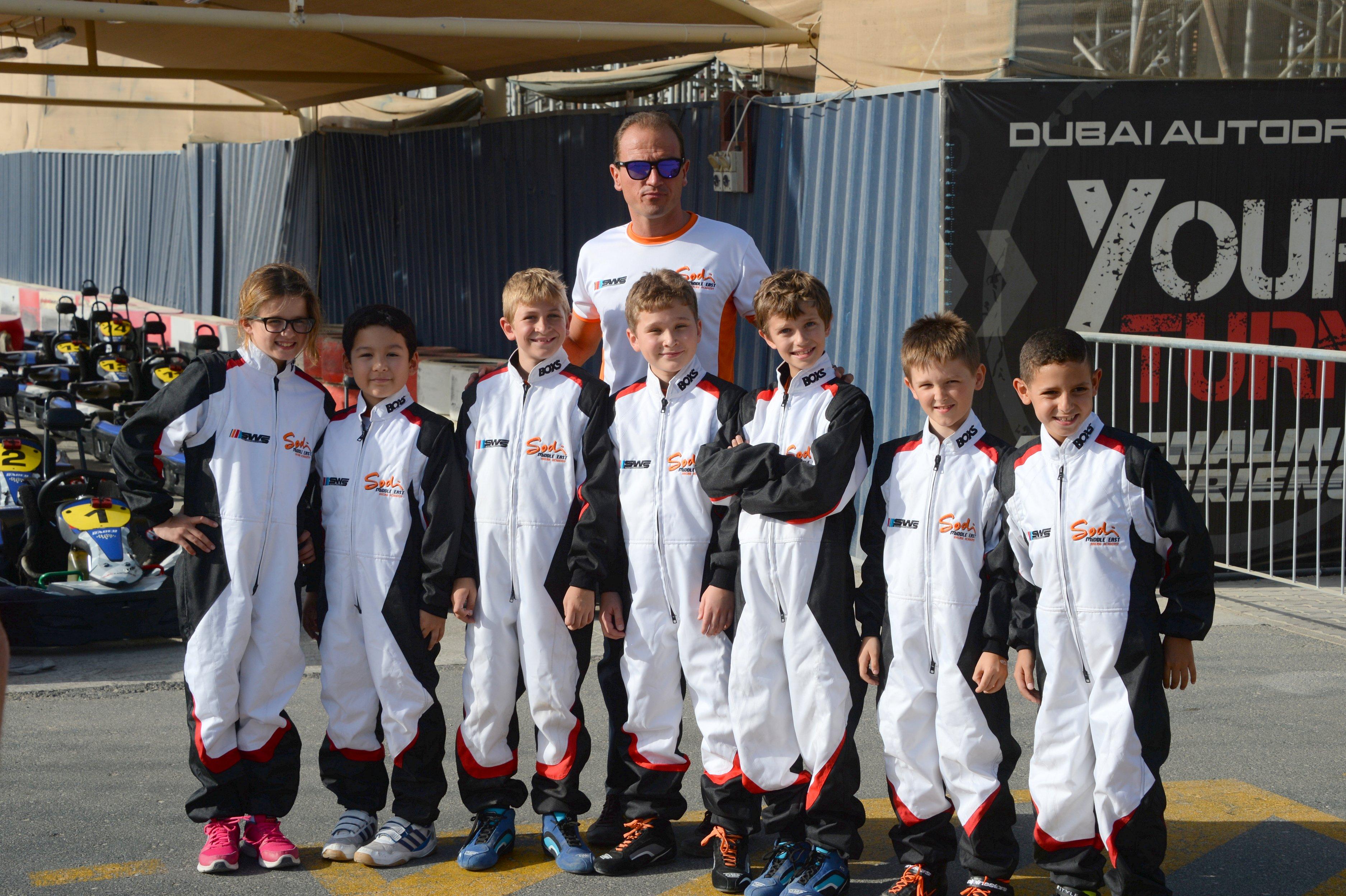 Dubai: Sodi Karting Racing Academy offers link to Rotax Micro series from SWS karts