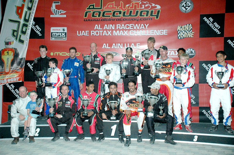 Karting: Rotax MAX Challenge at Al Ain Raceway crowns new UAE Champions
