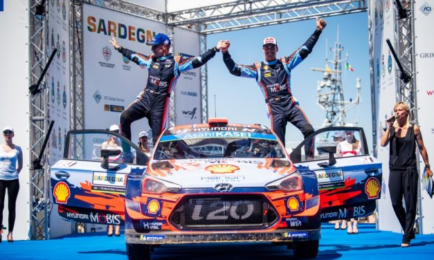 WRC: Rally Italia Sardegna – Last stage drama as  Dani Sordo takes win