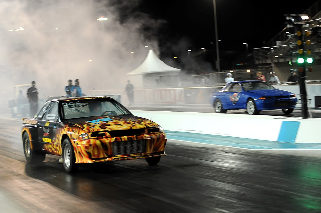 Drag Racing: Pro Drag at Yas kicks off with a blast in first of four rounds for 1.4m aed purse