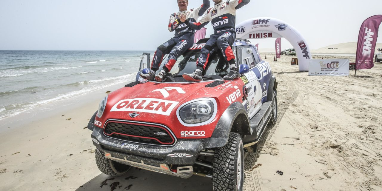 Rally: Przygonski seals famous victory in Qatar after late drama for Al Attiyah
