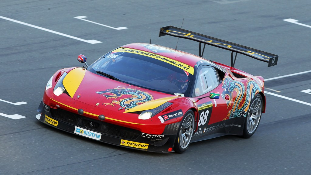 24hr: Kuwaiti ace Khaled Al Mudhaf confirms Dubai 24hr entry with Dragon Racing Ferrari 458 GT3
