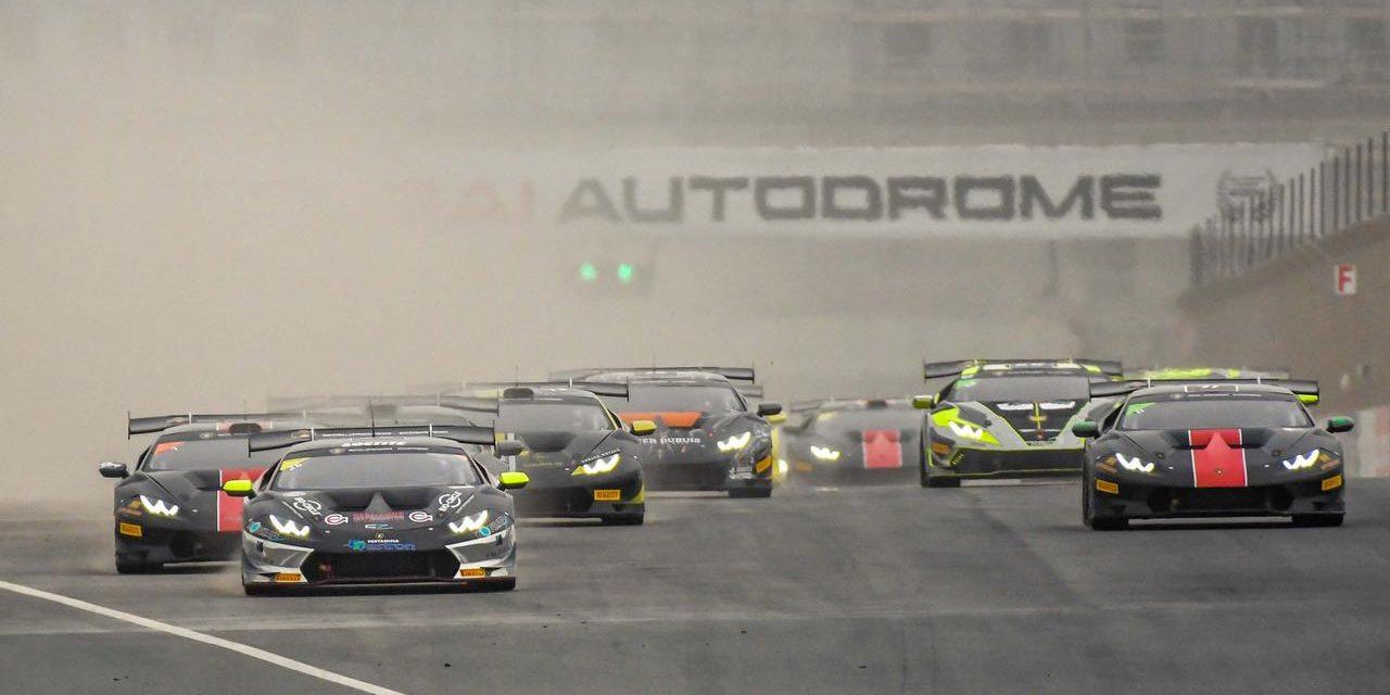 Dubai: Final round of the Lamborghini Super Trofeo Middle East at Dubai Autodrome on March 3-4