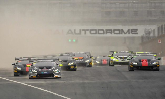 Dubai: Final round of the Lamborghini Super Trofeo Middle East at Dubai Autodrome on March 3-4