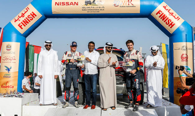 Dubai: Victory for Przygonski and Balooshi in Dubai International Baja