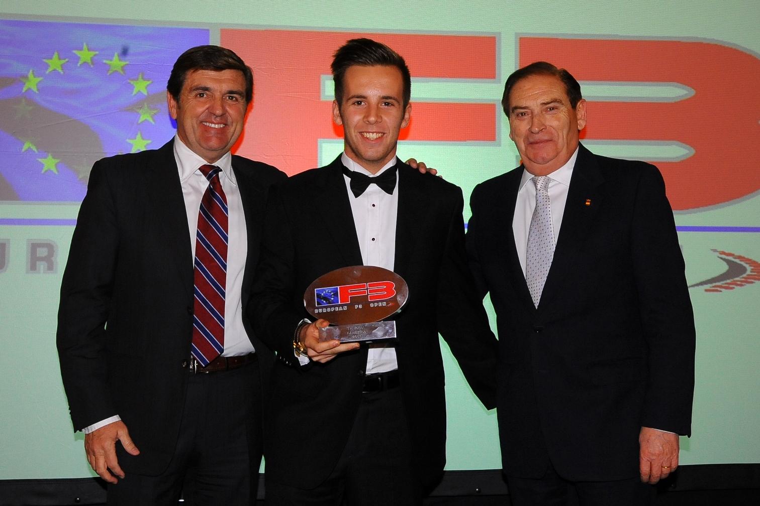 UAE: Dubai's Ed Jones receives F3 Open Champions trophy in Monaco