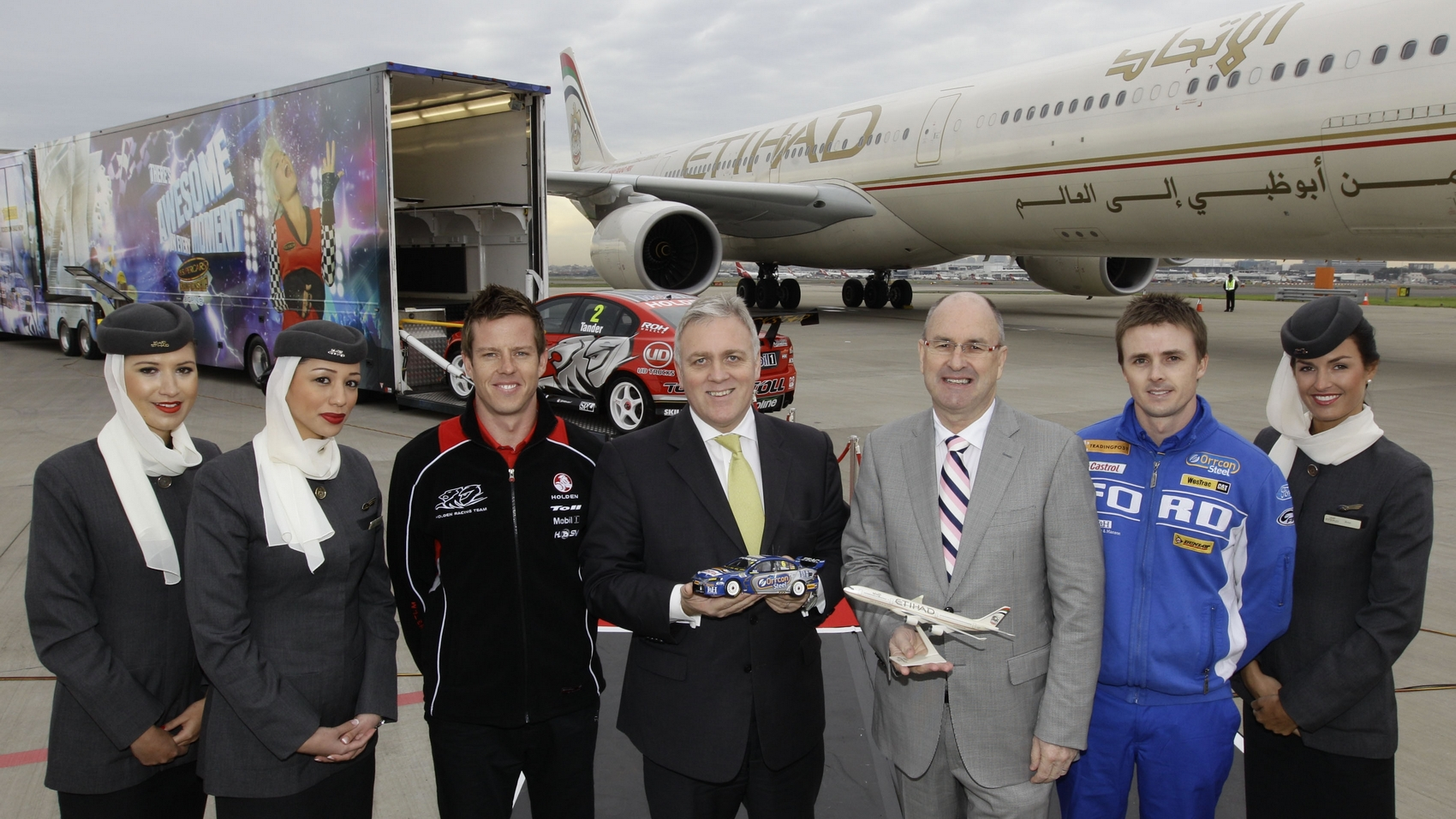 V8 Supercars: Etihad Airways partners with V8 Supercars as Official International Airline