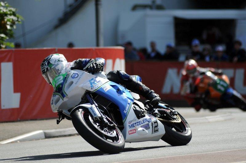 Isle of Man TT: Bradford lad Dean Harrison claims TT debut win in Lightweight race