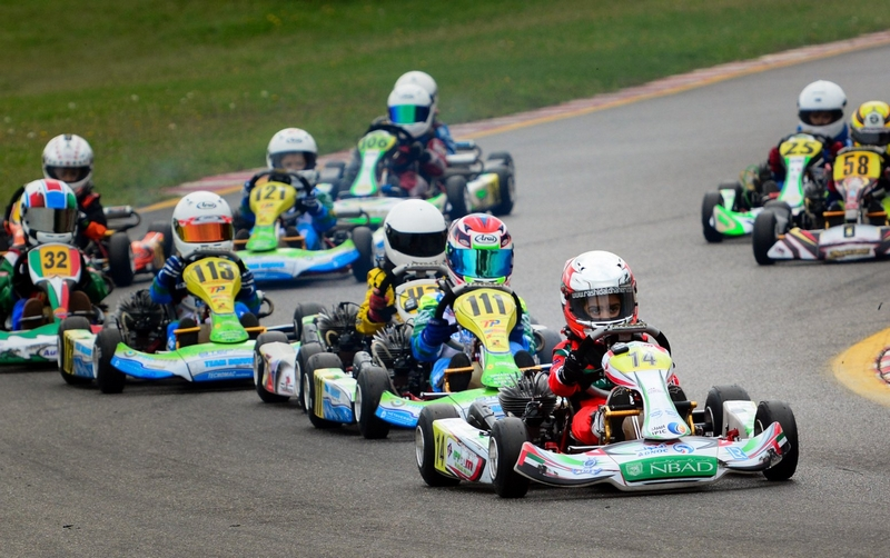 Dubai: Rashid Al Dhaheri takes two wins from two in Italy at the South Garda karting circuit