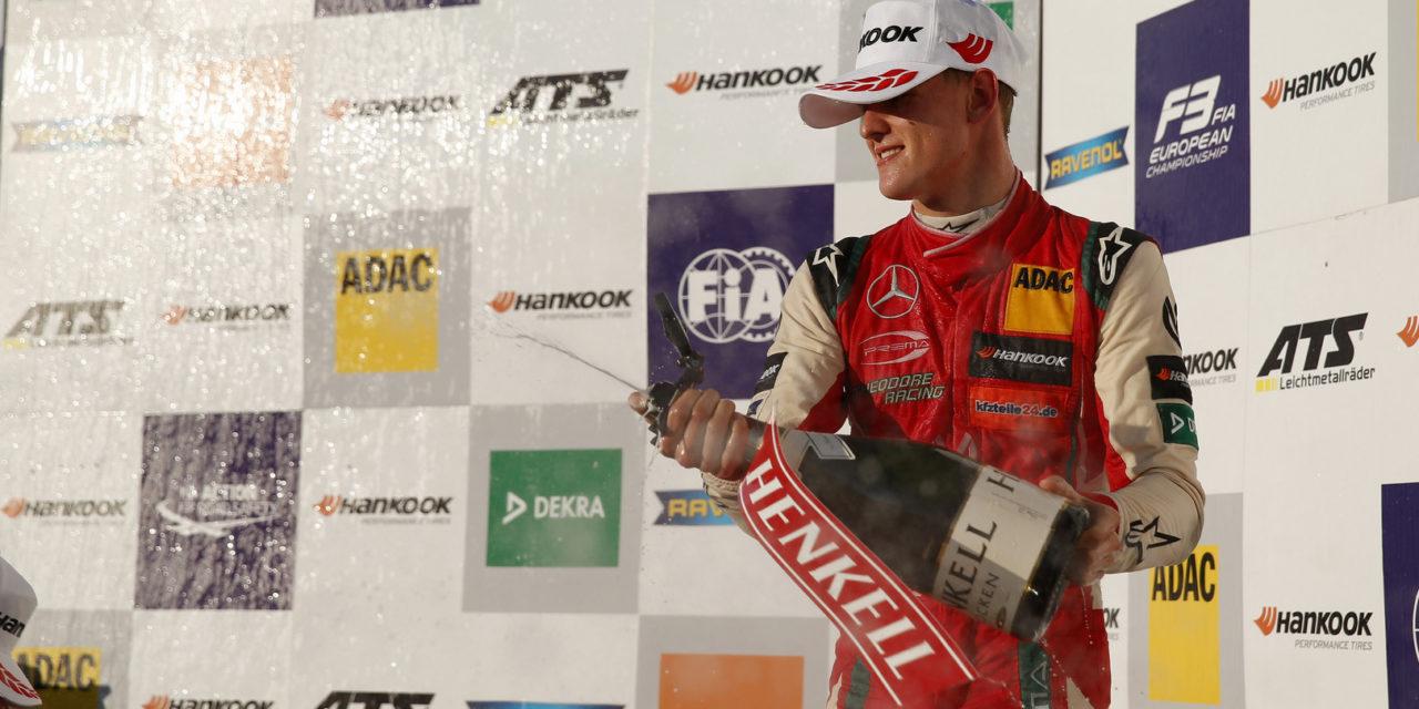 F3: Mick Schumacher is the FIA Formula 3 European Champion in Hockenheim