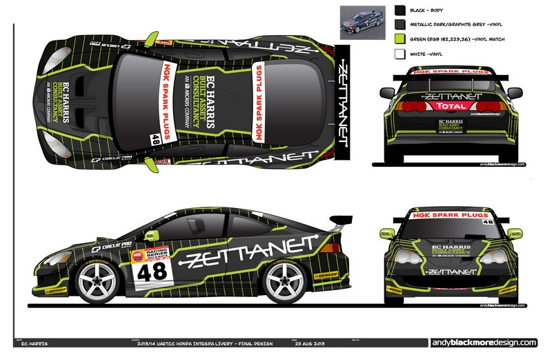 Dubai uae touring car championship contender jonathan for Ec harris dubai