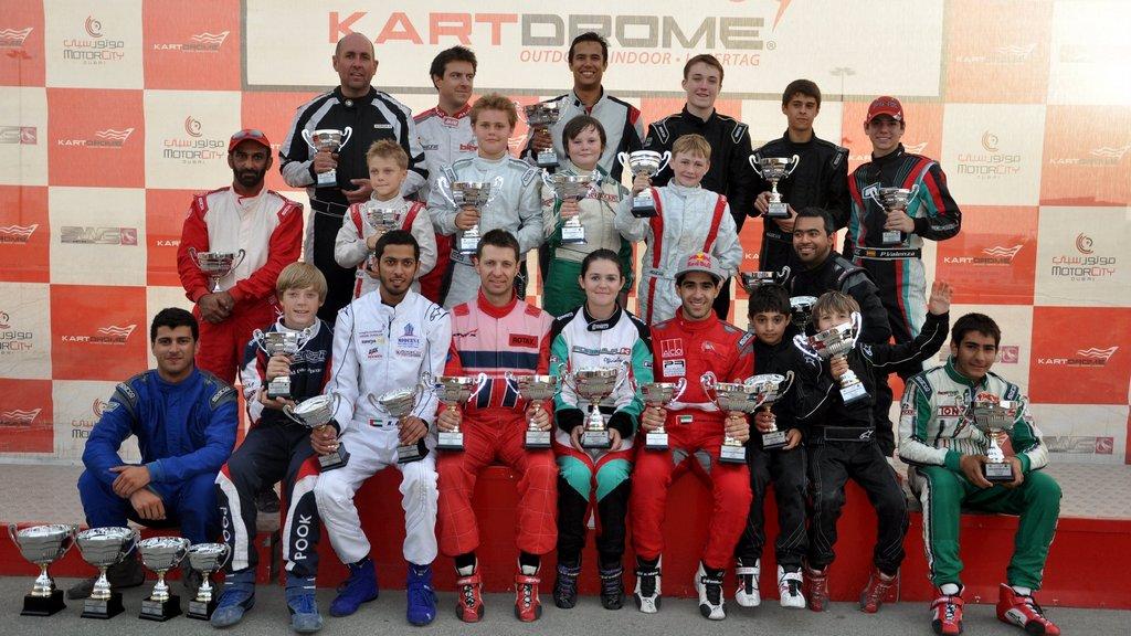 Karting: Dubai Kartdrome hosts DAMC & SWS season finale