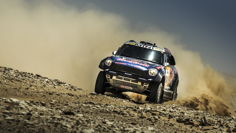 Rally: Al Attiyah cruises into lead after day one home win in Sealine Rally
