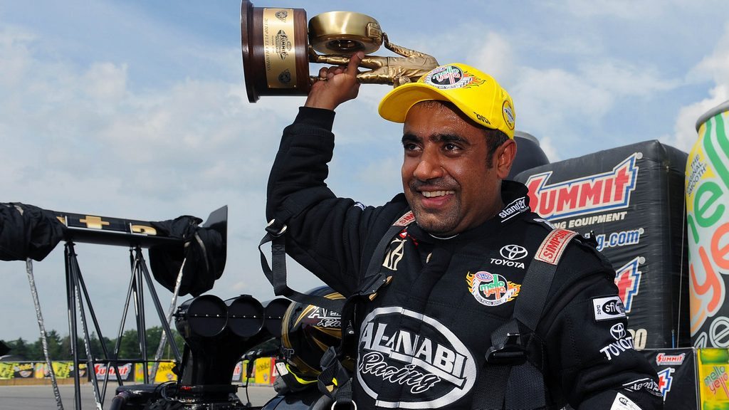Drag: Qatar Al Anabi team jubilant as Al Balooshi wins the NHRA Nationals in Ohio
