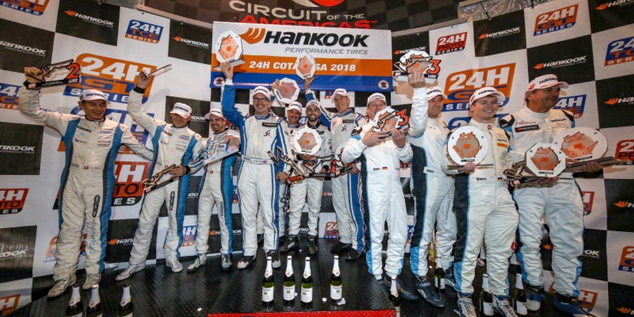 24H: Endurance Champions crowned at the Hankook 24H COTA USA