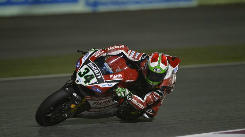 WSBK: Giugliano shines on WSBK's maiden night sessions in Qatar