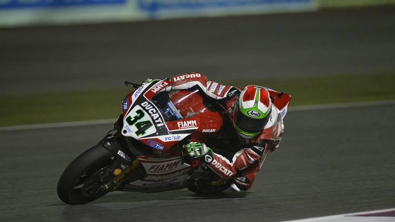 WSBK: Giugliano shines on WSBK's maiden night sessions in Qatar