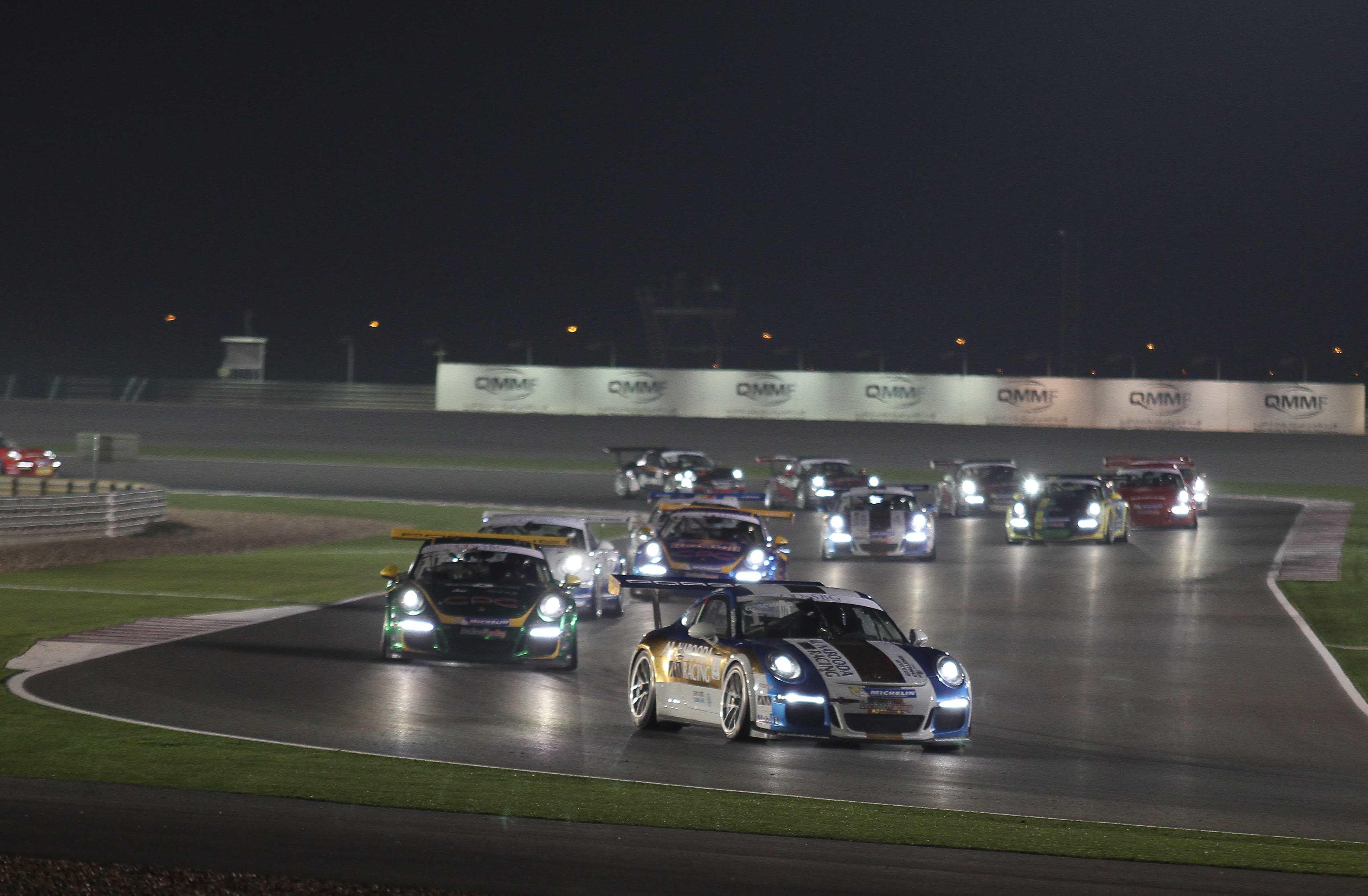 Qatar: Nasser Saleh Al Attiyah to contest Porsche GT3 CUP Challenge ME with new QMMF Team