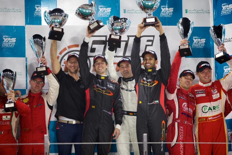 Gulf12h: Victorious Team Abu Dhabi by Black Falcon end year on a high