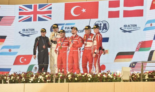 Bahrain: Turkey's Gulev and Yuloc clinch historic victory in inaugural FIA GT Nations Cup race