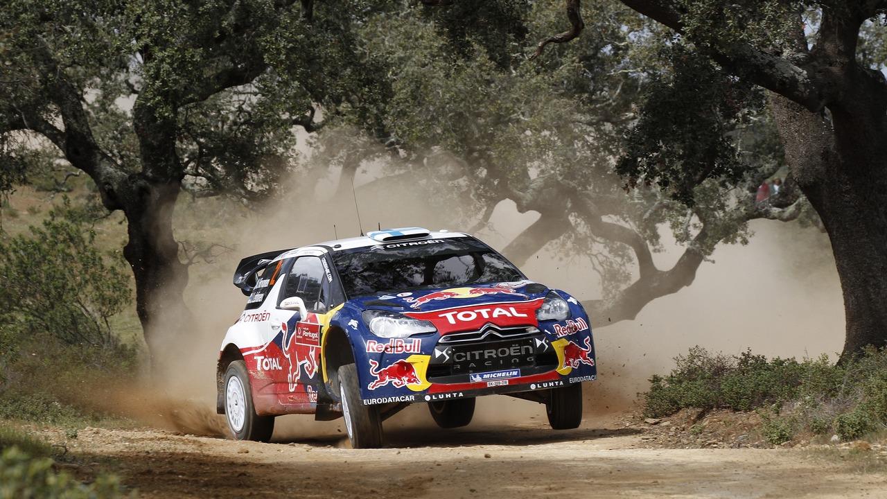 Rally citroen team hirvonen and lehtinen denied win in portugal as
