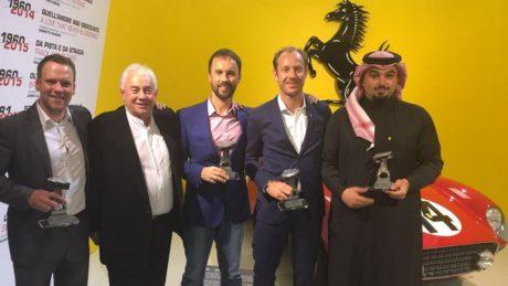 Dragon Racing drivers 2015 (L to R)  Matt Griffin, Team Owner-Leon Price, Rob Barff, Jordan Grogor, Mohammed Jawa