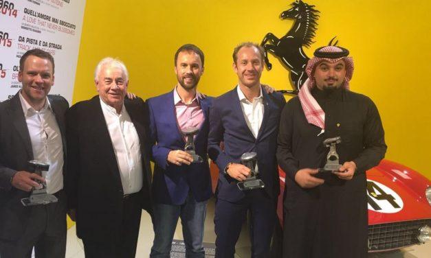 Events: Saudi driver Mohammed Jawa receives Ferrari GT winners award in Italy