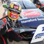 BTCC: Toyota triumphs as Tom Ingram takes double at Thruxton