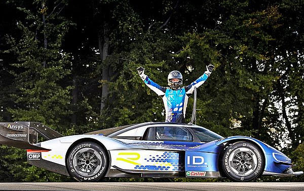 New track record for the Volkswagen ID.R at Bilster Berg