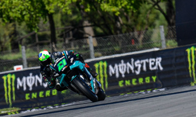MotoGP: Morbidelli takes magnificent maiden pole ahead of Quartararo and Rossi