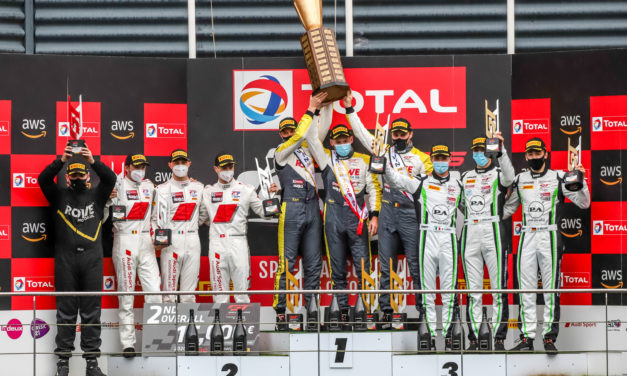 24H: Porsche celebrates second successive victory as ROWE Racing snatches overall win in gripping 24hrs of Spa