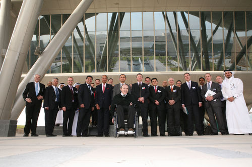 F1: UK Trade and Investment delegation visits Williams F1 Technology centre in Qatar