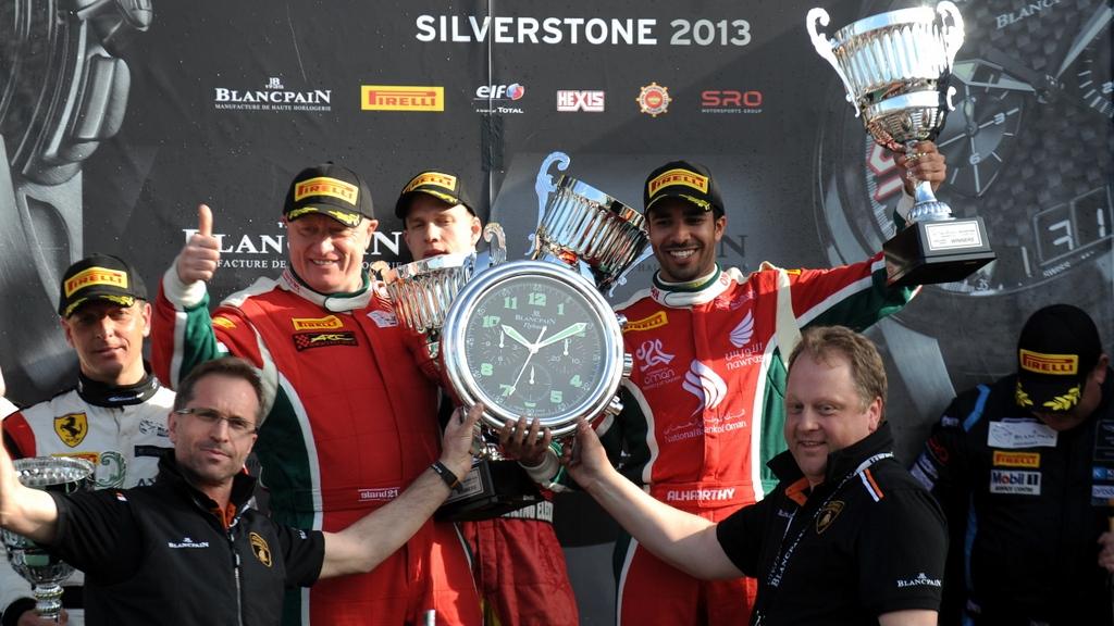 GT: Oman's Ahmad Al Harthy takes first Blancpain class win at Silverstone