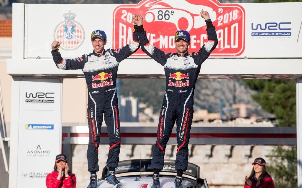 WRC: Monte Carlo win for Ogier making it five in a row