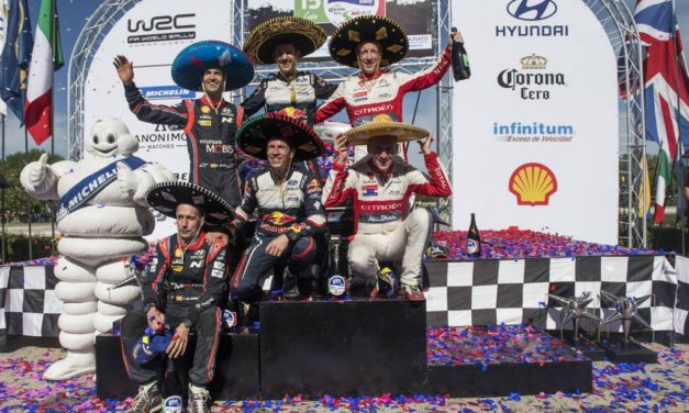 WRC: Rally Mexico sees Frenchman Ogier take win and regains championship lead