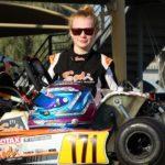 Dubai: Former UAE based Girl Racer Logan Hannah back on track at Dubai Kartdome
